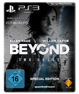 09.10.2013 Sony, BEyond Two Souls special Edition Amazon Exclusive Steelbox