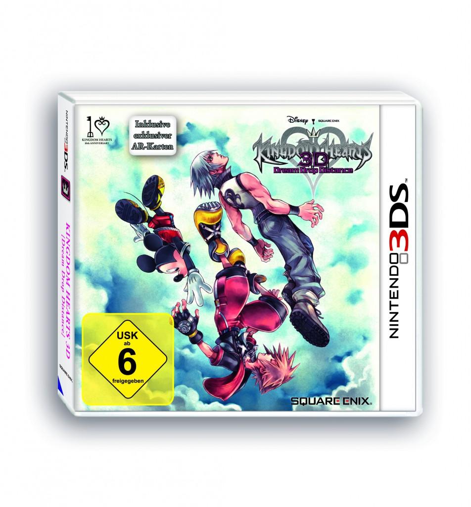 Nintendo 3DS Cover - Kingdom Hearts