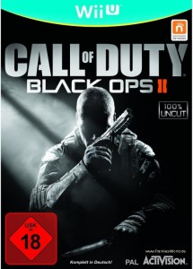Call of Duty Black Ops II Cover Wii-U Deutsch