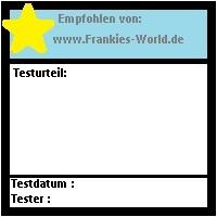 Frankies Testwelt - Testsiegel