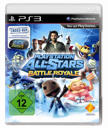 Playstation Allstars Battle Royal Cover PS3