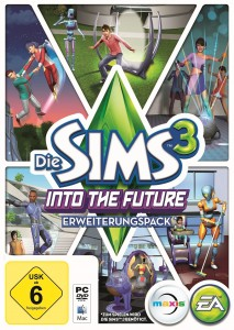Die Sims 3 Into The Future Packshot