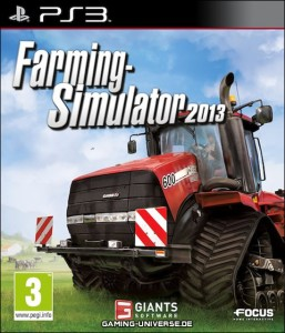 Farming Simulator Cover Art PS3
