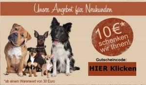 Getreidefreies Hundefutter das hilft - Charity for dogs
