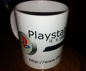 Playstation Choice Tasse