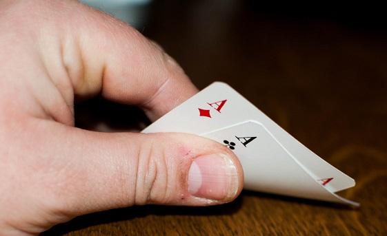 Poker Pocket Pair Asses