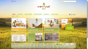 Die Homepage von Verival.at