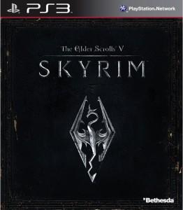 Skyrim PS3 Packshot